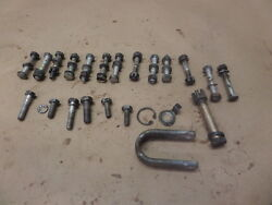 1956 Piper Pa-23-150 Apache O-320 Engine Hardware Case Bolts W/ Lift Hook