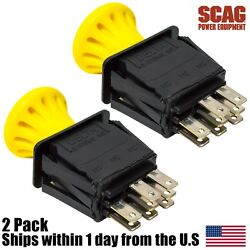 2 Genuine Oem Scag Sfw 36 And 48 Walk Behind Mower Pto Switch 10 Amp 483957