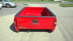 2014-2017 Gmc Sierra 8ft Truck Bed W/tailgate And Lamps Fire Red Gcn
