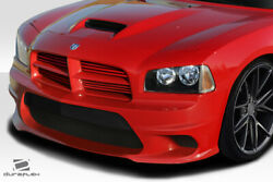 Duraflex Hellcat Look Front Bumper 1 Piece For Charger Dodge 06-10 Ed_11329