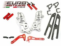 Ducati Scrambler 2014-2016 Ducabike Rearsets Kit For Rider And Passenger Silver