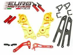 Ducati Scrambler 2014-2016 Ducabike Rearsets Kit For Rider And Passenger Gold