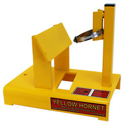 Yellow Hornet Lawn Mower Blade Sharpener. Made In Usa Not A Chinese Knock Off