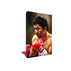 World Boxing Icon Manny Pacquiao Pacman Poster Photo Painting On Canvas Wall Art