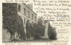 JULES MASSENET - AUTOGRAPH NOTE ON PICTURE POSTCARD SIGNED 07/30/1906
