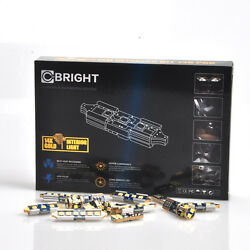 10 x Xenon White Canbus LED Lights Interior Package Kit For 1997-2003 Ford F-150