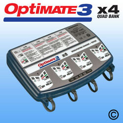 OptiMate 3 Quad Motorcycle 12V Battery Charger Optimiser SAE 2019 Version NEW