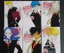 Japan Natsume Ono Manga Lot Acca 13-territory Inspection Dept. 16 Complete