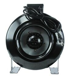 4 6 8 inch Inline Fan Hydroponic Air Blower Cool Vent for Plant Growing