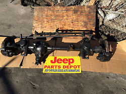 1997-2006 Jeep Wrangler Tj Oem Front Differential Assy Complete Axle Dana 30 373