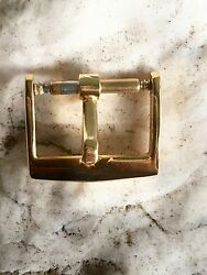VINTAGE BUCKLE IN YELLOW GOLD FOR PATEK PHILIPPE 14mm. $45.00