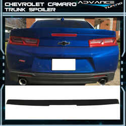 Fit 16-19 Chevy Camaro Factory Style Flush Mount 3-Piece Blade Trunk Spoiler