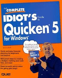 The Complete Idiots Guide To Quicken 5 For Window
