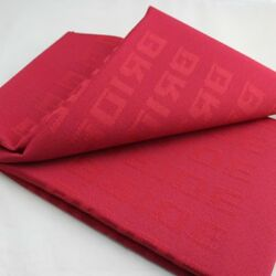Red 1mx1.6m Auto Bride Fabric Racing Car Seat Cover Cloth Decoration Material