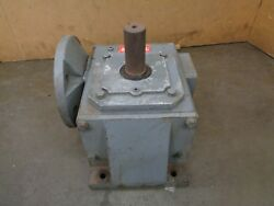Dayton 4z021b 51 Ratio Right Angle Gearbox Speed Reducer 7.5hp 1260 In/lb 345