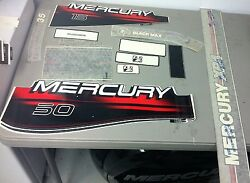 New Oem Mercury Assorted Outboard Motor Decals As Shown In Picture