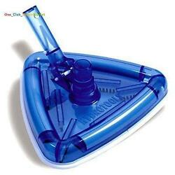 Pool Vacuum Head Cleaning Tool Triangular Shape Cleaner Above Ground Pools