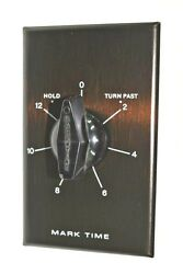 Rhodes Wall Box Timer Switch 12-hr W/ Hold Mark-time Heater Fan Light 90015 New