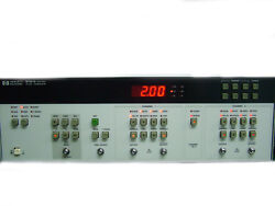 Hp 8131a Pulse Generator Opt 020, Dual Ch, 500mhz Repetition Rate
