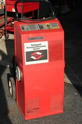 Robinair Refrigerant Recovery Recycling System R12 Model 17350C with tank