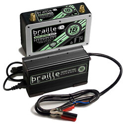 BRAILLE AUTO BATTERY B168LC Lithium ION Super 16 Volt Battery wCharger
