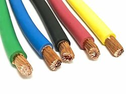 4 Awg Gauge Awg Welding Lead And Car Battery Cable Copper Wire Made In Usa