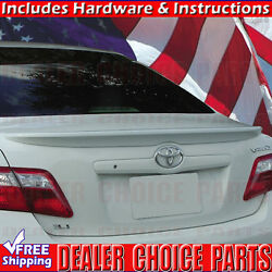 For 2007 2008 2009 2010 2011 Toyota Camry Factory Style Lip Spoiler Wing Primer