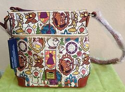 NWT Disney Dooney & Bourke Beauty and The Beast Crossbody Purse SOLD OUT
