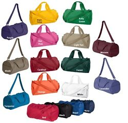 Liberty Bag New Eco Recycled Small Duffle Gym Workout Sport Ball Tote 8805-sale