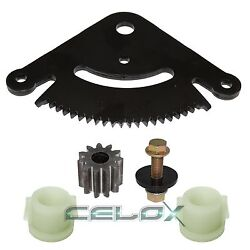 Steering Sector And Pinion Gear W/bushings For John Deere D130 D140 D150 D160 D170