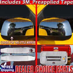 2014 15 16 17 18 19 2020 Gmc Canyon Chrome 2 Door Handle Covers+mirrors+tailgate