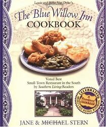 Louis and Billie Van Dykes The Blue Willow Inn Cookbook by Jane Stern Michael $4.49
