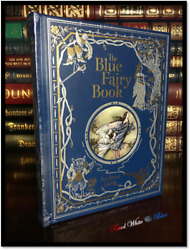 Blue Fairy Book By Andrew Lang Sealed Illustrated Leather Bound Gift Hardback
