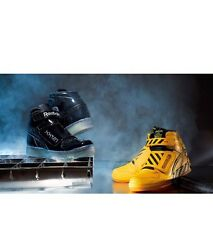 Reebok Alien Stomper Mid Powerloader The Final Scene Pack Black Yellow Size 8-13
