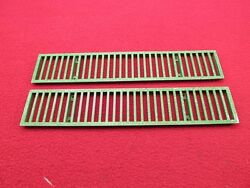 Oem 1968 68 Early Set Of 2 Air Outlet Cowl Grille Grilleand039s Trunk Deck Lid