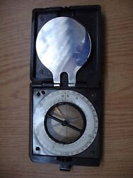 Vintage Wwii German Officers Compass Kuhrt Drp
