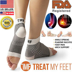 Plantar Fasciitis Compression Socks Ankle Brace Support Foot Pain Relief Socks $9.99