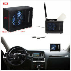 12V Ice Evaporative Air Conditioner Home Car Cooler Cooling Fan Water Portable *