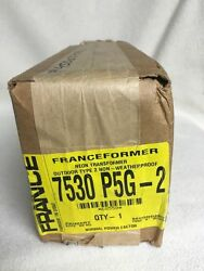 France Electric Sign Repair Parts 7530 P5g-2 Outdoor Type 2 Neon Transformer