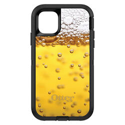 Otterbox Defender For Apple Iphone Pick Model Beer Glass Foam Bubbles