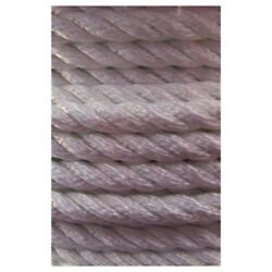 General Work 3 Strand Twisted Nylon Rope 1-1/2x600and039 Anchor-mooring-dock Line Md