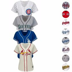 Mlb Majestic Official Team Home Away Alt Cool Base Jersey Collection Women's