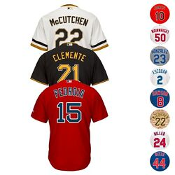 Mlb Majestic Current Players Official Cool Base Team Home Away Alt Jersey Menand039s