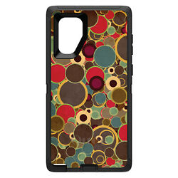 Otterbox Defender For Galaxy Note Choose Model Brown Red Yellow Circles