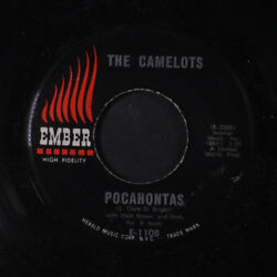 CAMELOTS: Pocahontas  Searchin' For My Baby 45 Vocal Groups