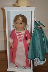 American Girl Doll Elizabeth Retired Felicity's Best Friend And Bed And Accessory