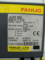 1pc Used Fanuc A06b-6117-h109 Servo Amplifier In Good Condition