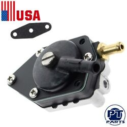 Outboard Fuel Pump W/ Gasket For Johnson Evinrude 438556 388268 385781 20-140hp