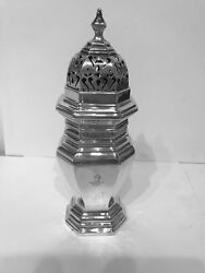 A Solid Silver Sugar Caster - London - 1932 By Goldsmiths And Silversmiths Co