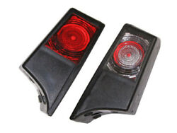Pair Cab Marker Lights Lamps Cabin For Scania Red/white R10w R/l Side